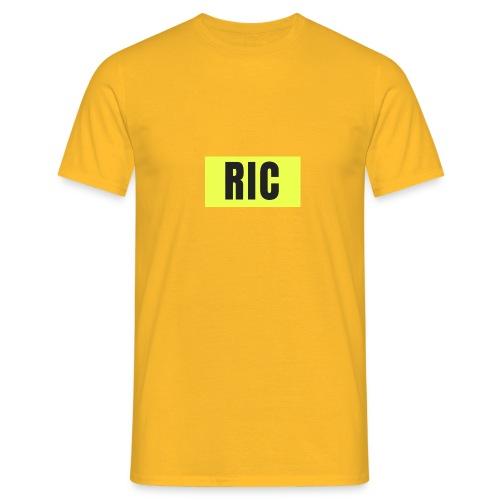 RIC - T-skjorte for menn
