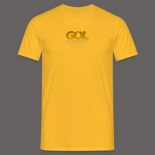 GOL ILUMINADO_FOUNDATION_ - Men's T-Shirt