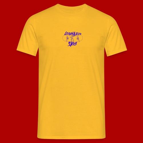 Purple Logo Break the rules Tee - Maglietta da uomo
