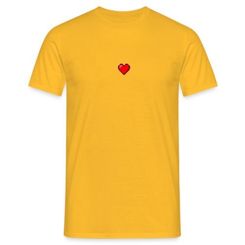 8BIT HEART - Camiseta hombre