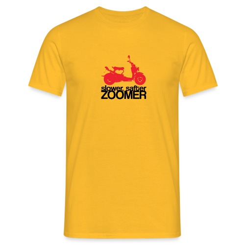 Slower faster zoomer - T-shirt Homme