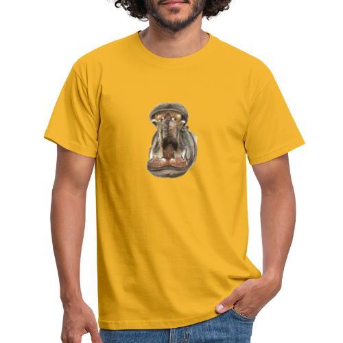 Flusspferd - Männer T-Shirt