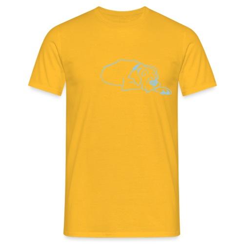 tyson ligger - T-skjorte for menn