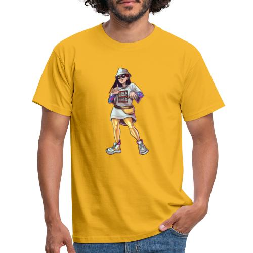 Freiburg | Gold School - Straight outta FRBG - Männer T-Shirt