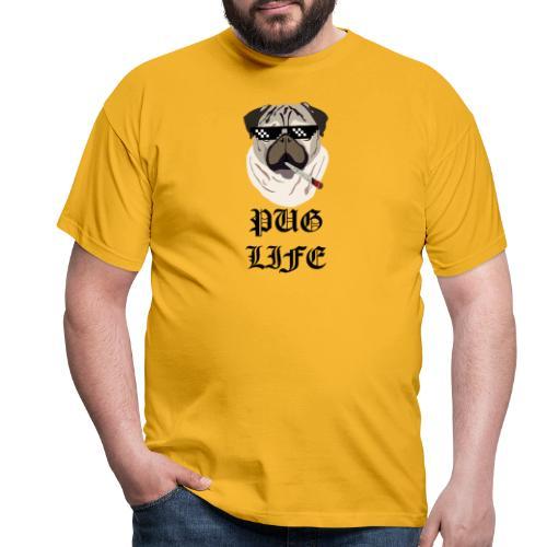 Pug Life - Herre-T-shirt
