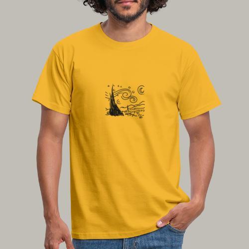 Little piece of van gogh - T-shirt Homme
