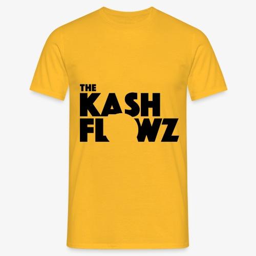 The Kash Flowz Official Black - T-shirt Homme