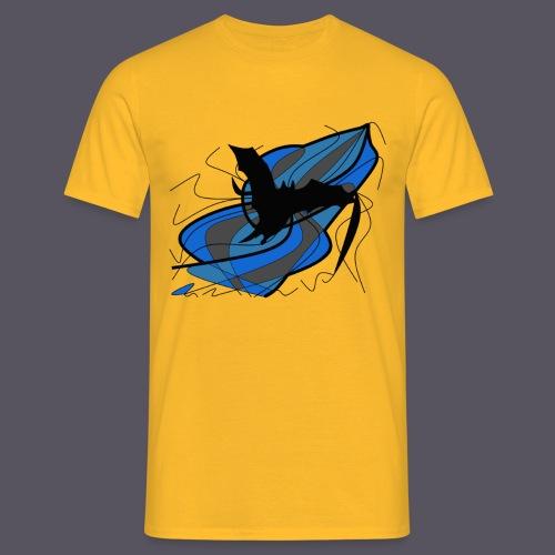Fantasie Fledermausmotiv - Männer T-Shirt