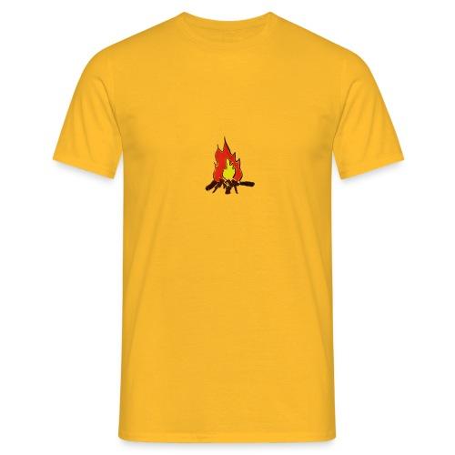 Fire color fuoco - Maglietta da uomo