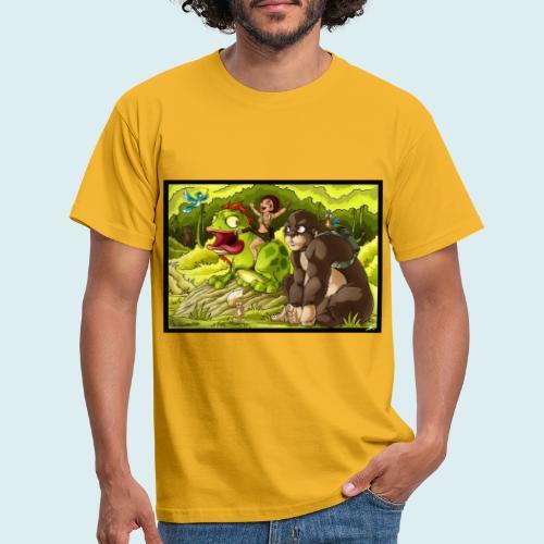 jungle - Maglietta da uomo