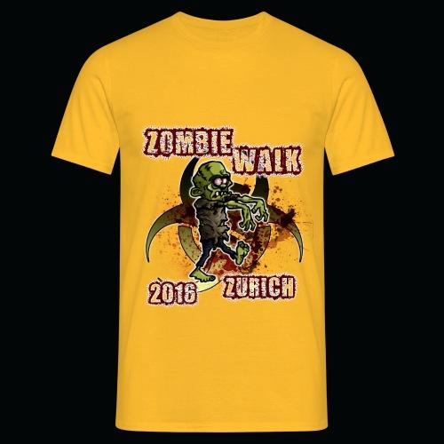 shirt zombie walk3 - Männer T-Shirt