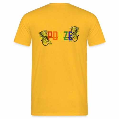 PONZETIGER - Männer T-Shirt