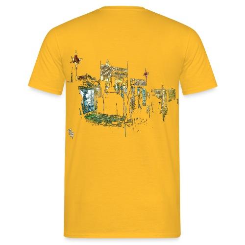BASSKOUR NEUROWATTS PROPULSOUND JUNGLE ASSAULT - T-shirt Homme