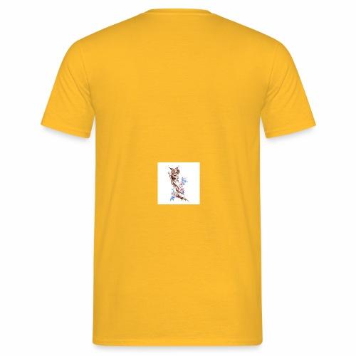 T-shirt con fenice - Maglietta da uomo