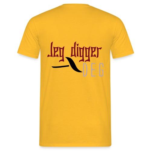 Jeg digger deg - T-skjorte for menn