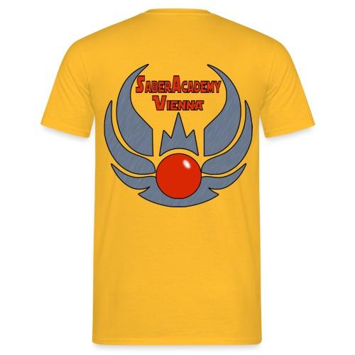 SaberLogo18H - Männer T-Shirt