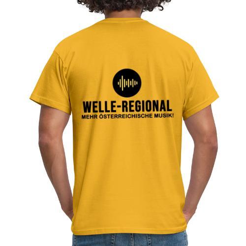 Das Logo von Welle-Regional! - Männer T-Shirt