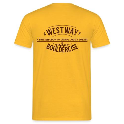 westway-crimps distressed - Men's T-Shirt