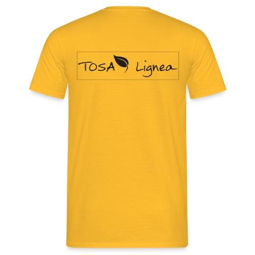 Tosa-Lignea-schwarzweiß - Männer T-Shirt