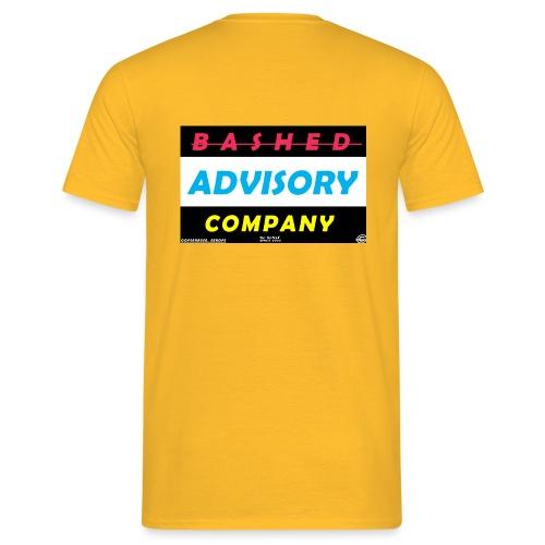 BASHED ADVISORY - Herre-T-shirt