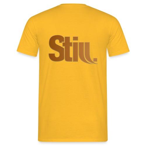 still groß png - Männer T-Shirt