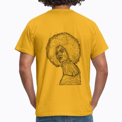 african afro - Men's T-Shirt
