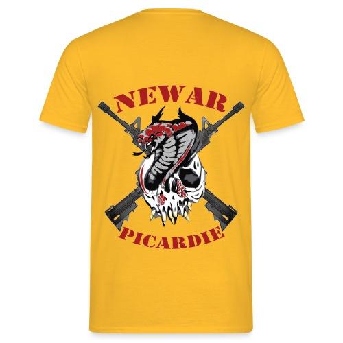 logo crane transparent 4000px - T-shirt Homme