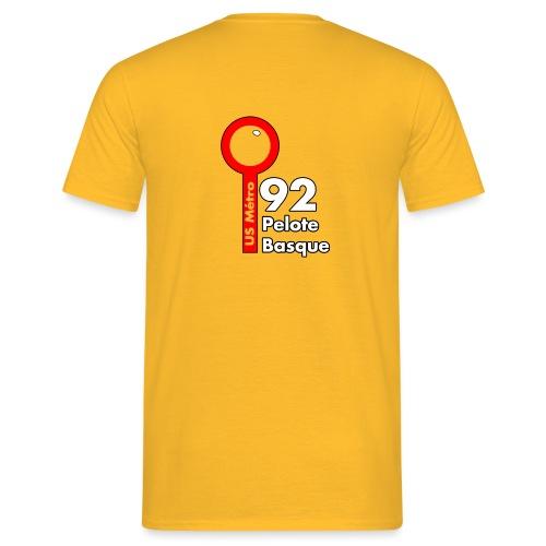 PeloteBasqueVA1B png - T-shirt Homme