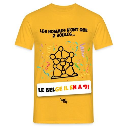 T-Shirt #AtomiumPower - T-shirt Homme