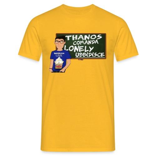 Io sto con THANOS! - Maglietta da uomo