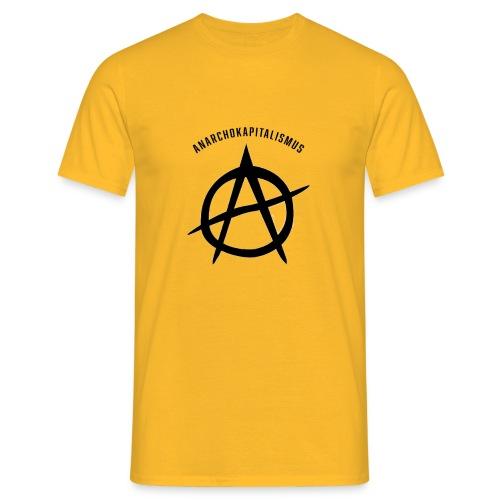 Anarchokapitalismus - Männer T-Shirt