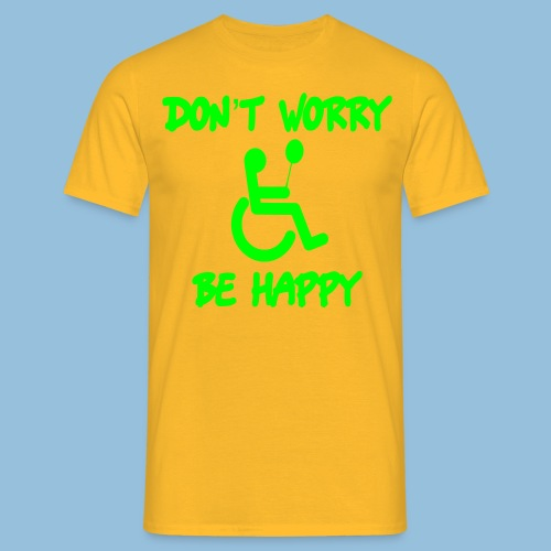dontworry - Mannen T-shirt