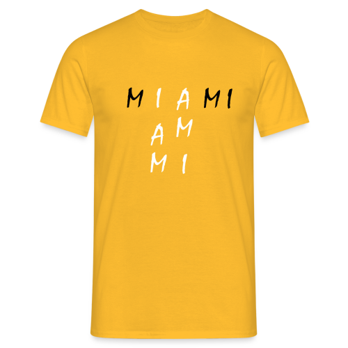 Miami Collection - T-skjorte for menn