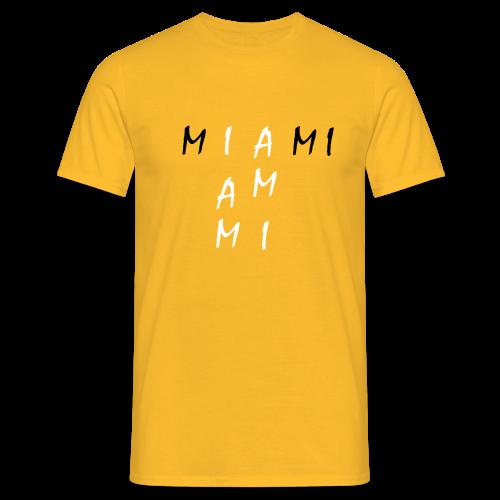 Miami Collection - T-skjorte for menn