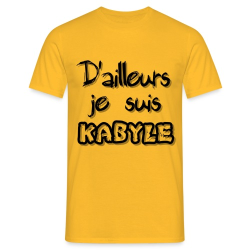 Je suis kabyle - T-shirt Homme