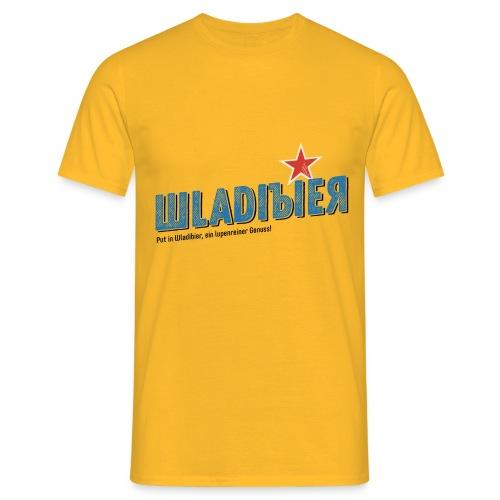 Wladibier - Männer T-Shirt