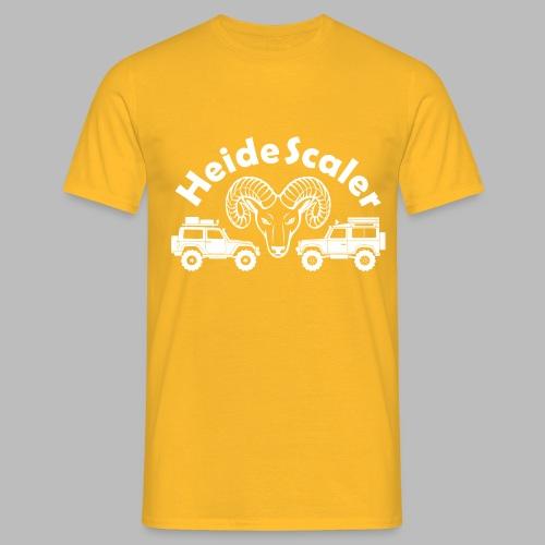 Heide Scaler white HQ - Männer T-Shirt