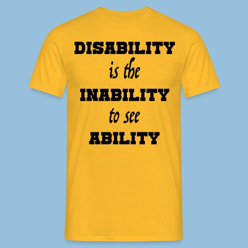 Ability4 - Mannen T-shirt