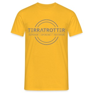Terratrotter® | Taupe - Men's T-Shirt