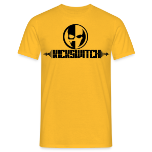 KickSwitch Logo with text - Men's T-Shirt