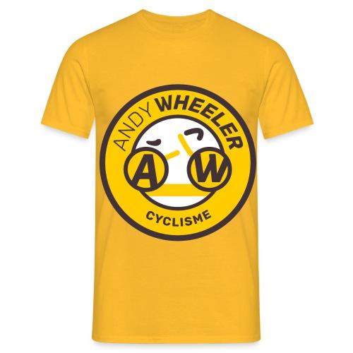 AW CYCLISME logo 1 - T-shirt Homme