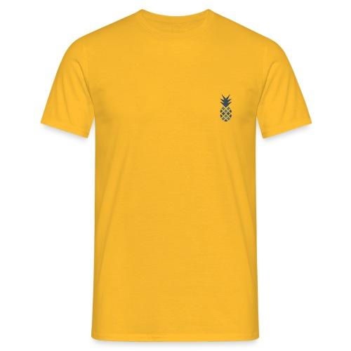 Ananas blau - Männer T-Shirt