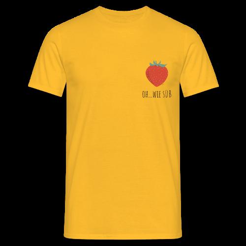 StrawBerry - Männer T-Shirt