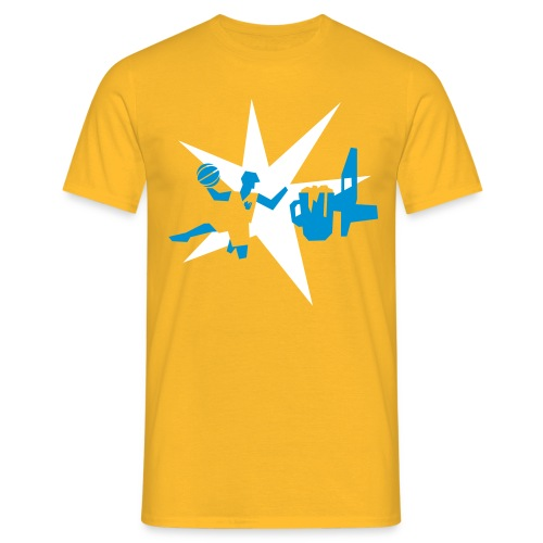 Biersketball Shirts - Männer T-Shirt