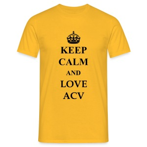 Keep Calm and Love ACV - Männer T-Shirt
