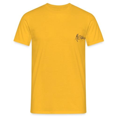Monster Small Logo - Men's T-Shirt