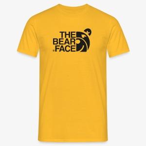 The Bear Face T-shirt (Black) - Camiseta hombre