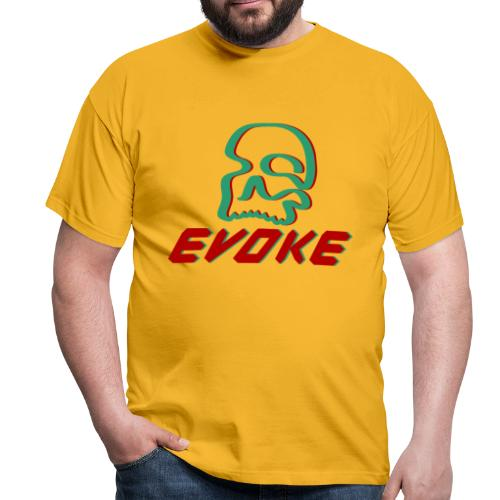 EVOKE skull - Men's T-Shirt