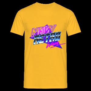 New Retro Wave - Mannen T-shirt