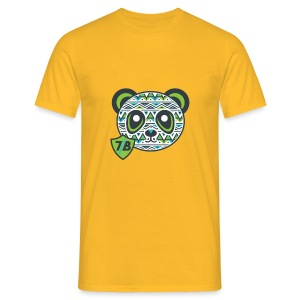 The Young Green Panda - Men's T-Shirt